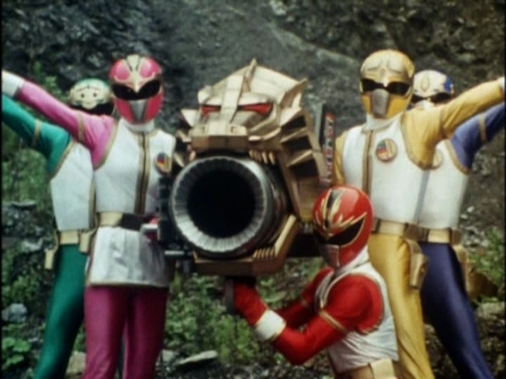 Super Sentai Season 17 :Episode 30  The Deadly, Fast-Talking Wanderer