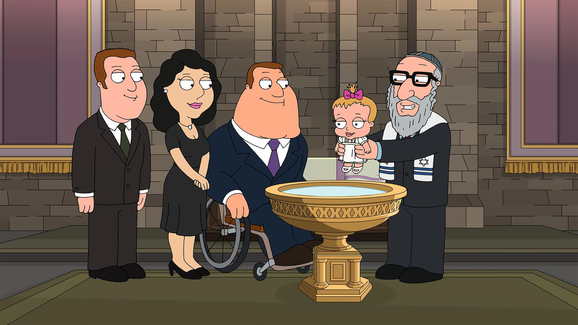 Family Guy Season 19 :Episode 5  La Famiglia Guy
