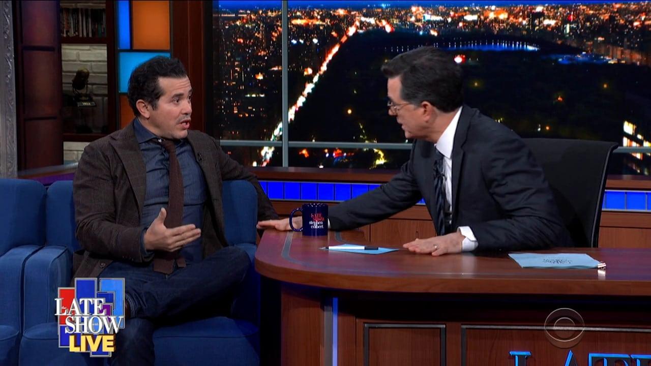 The Late Show with Stephen Colbert Season 5 :Episode 83  John Leguizamo / Philip Rucker / Carol Leonnig