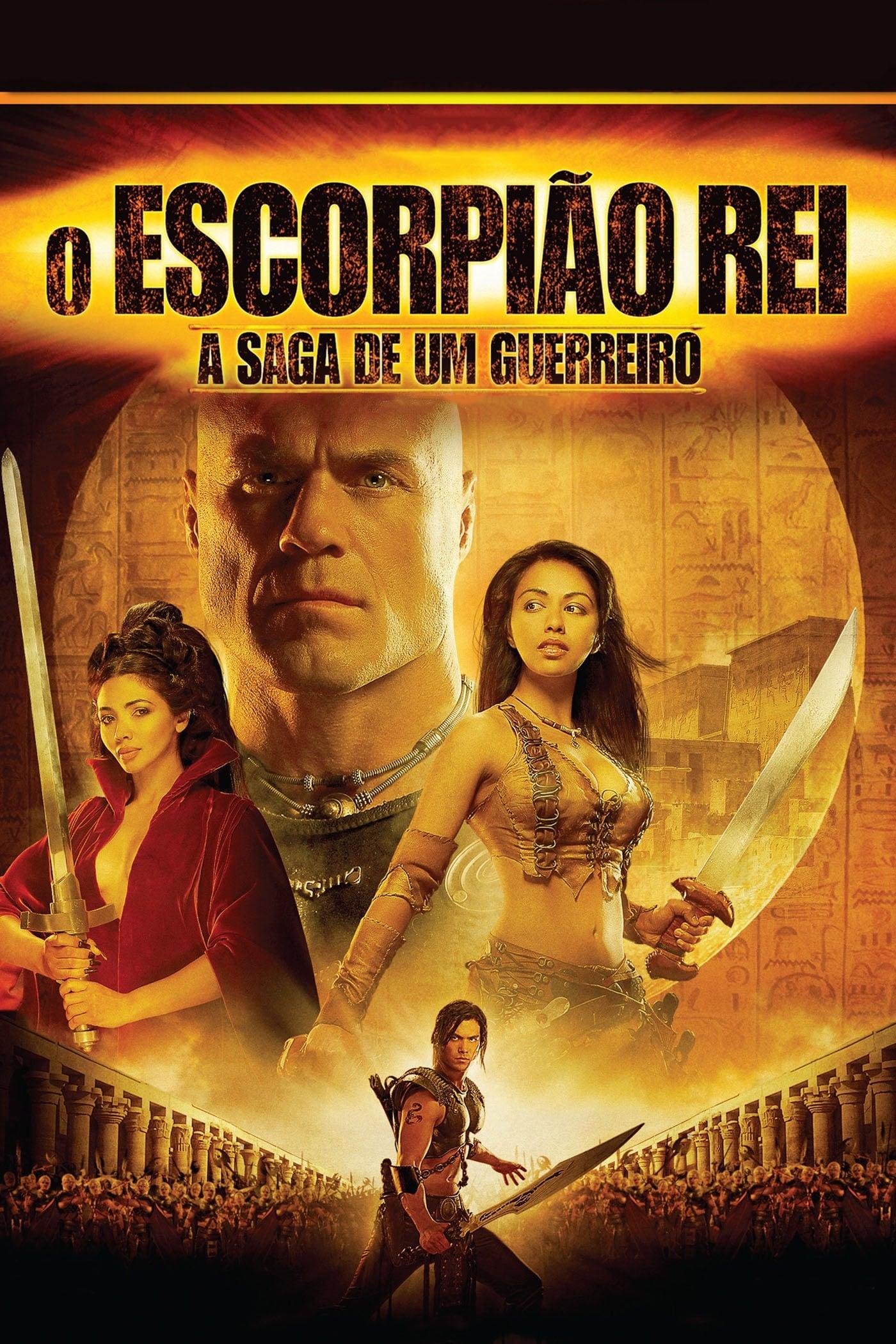 capa O Escorpião Rei 2: A Saga de um Guerreiro