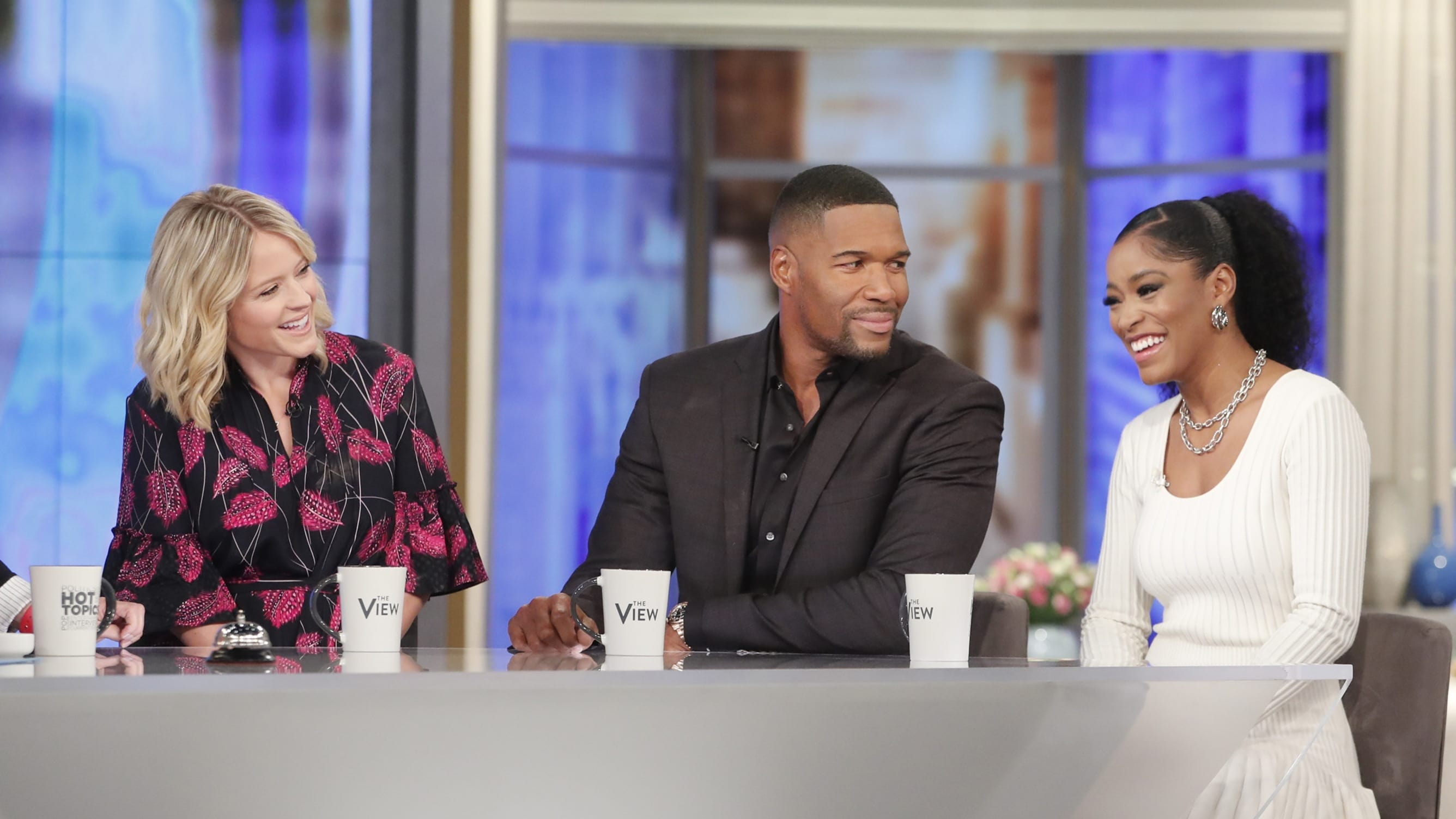 The View Season 23 :Episode 21  Michael Strahan, Sara Haines & Keke Palmer; Allison Tolman