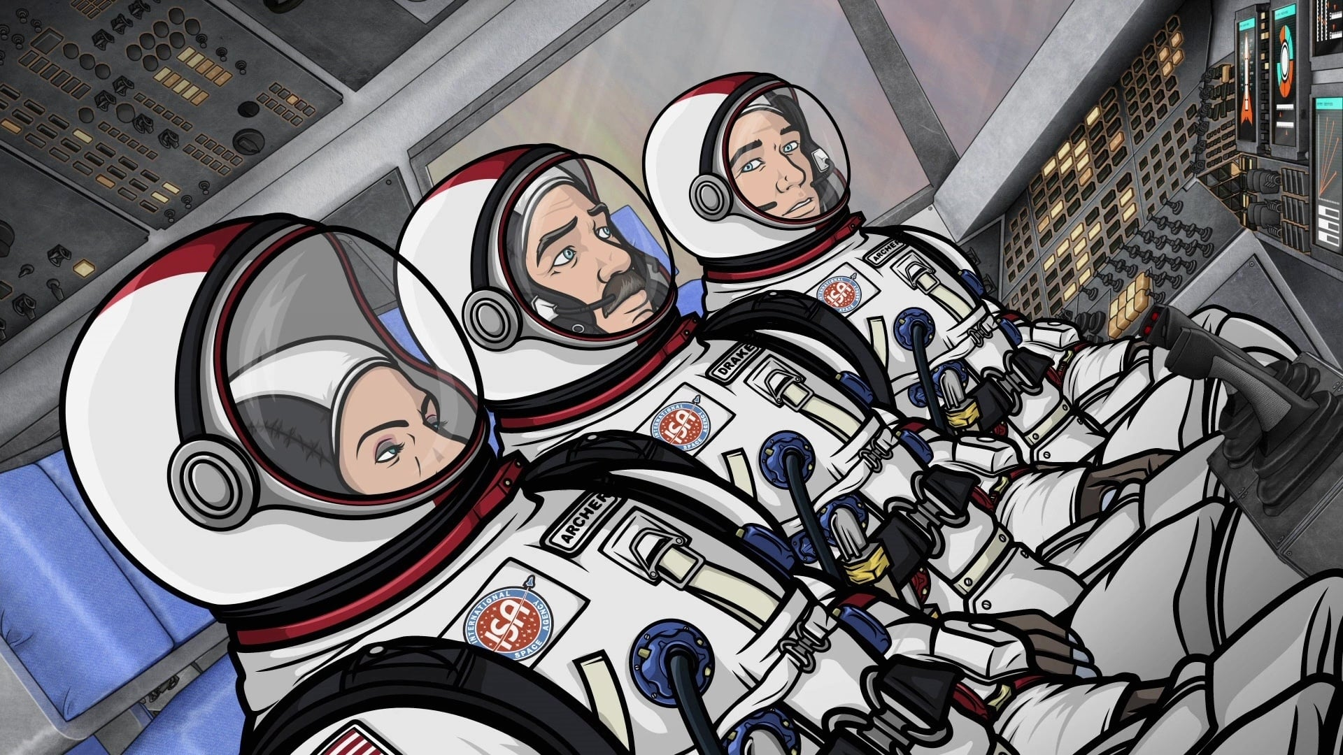Archer Season 3 :Episode 9  Space Race (1)