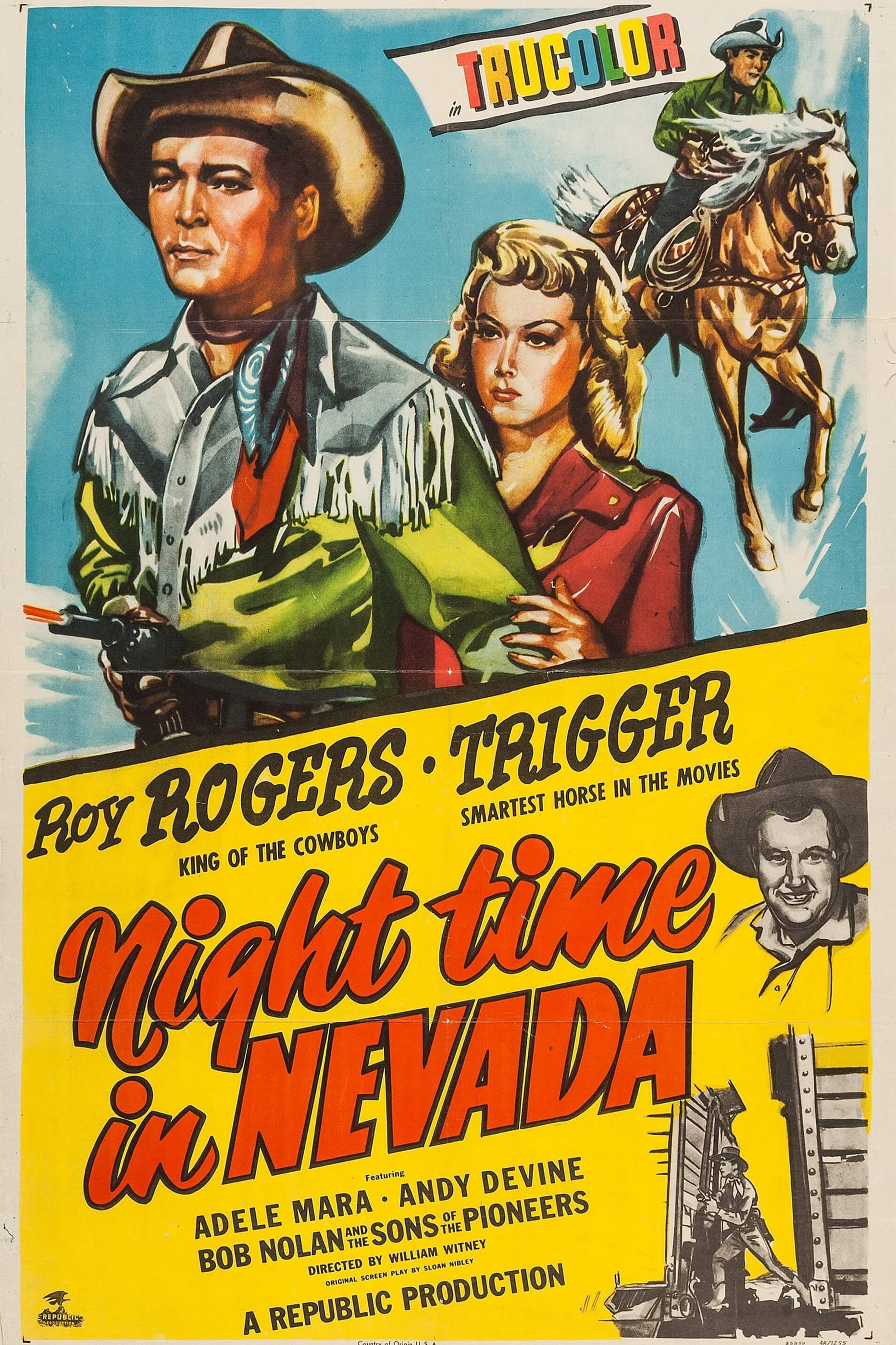 Nighttime in Nevada on FREECABLE TV