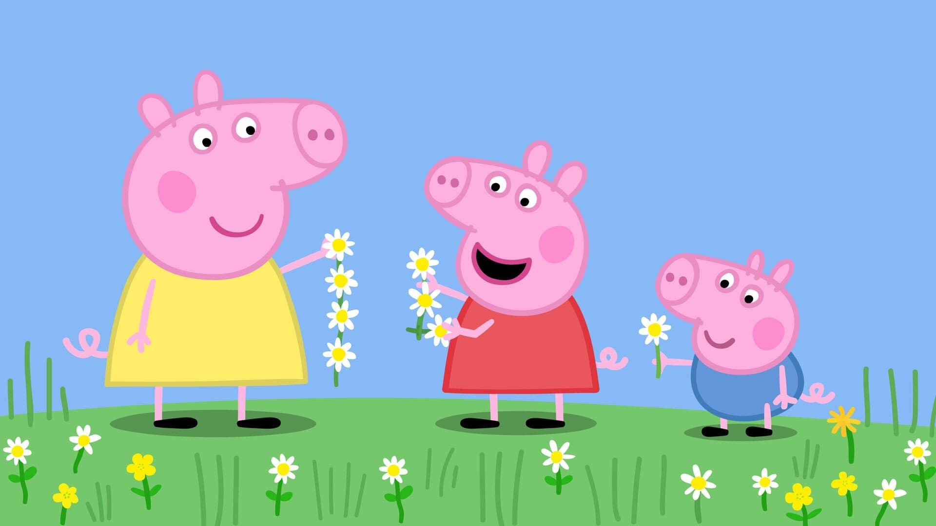 Peppa Pig Season 6 :Episode 10  Buttercups, Daisies and Dandelions