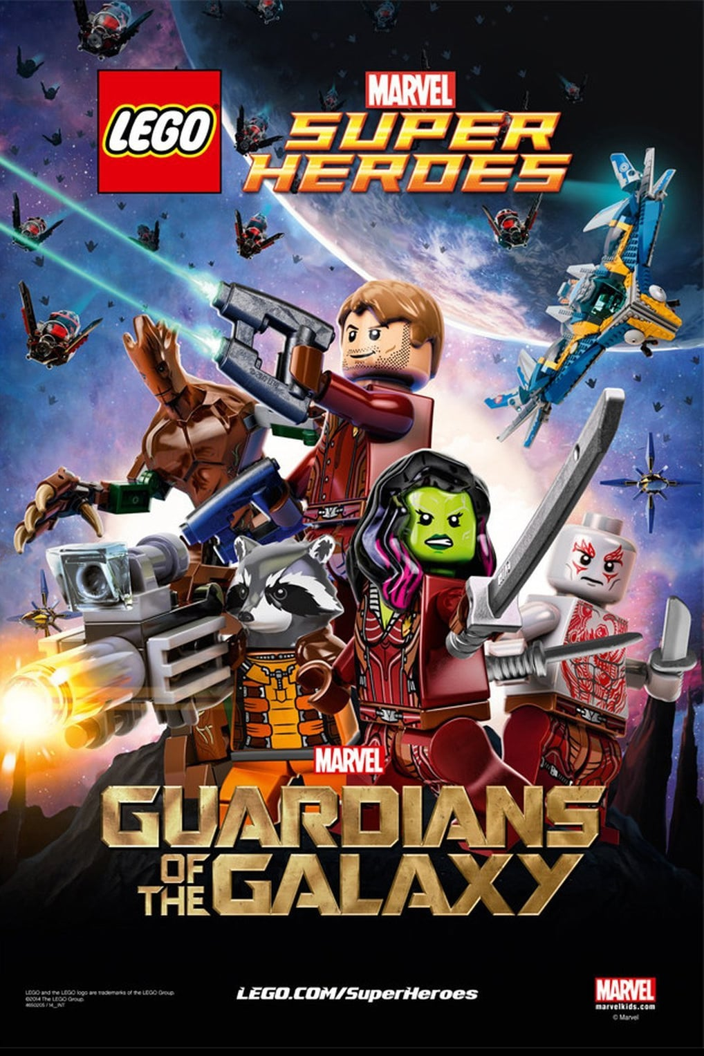 Ver LEGO Marvel Super Heroes – Guardians of the Galaxy: The Thanos Threat Online HD Español (2017)
