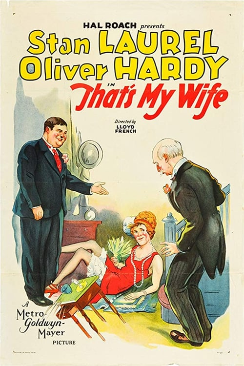 That's My Wife (1929)