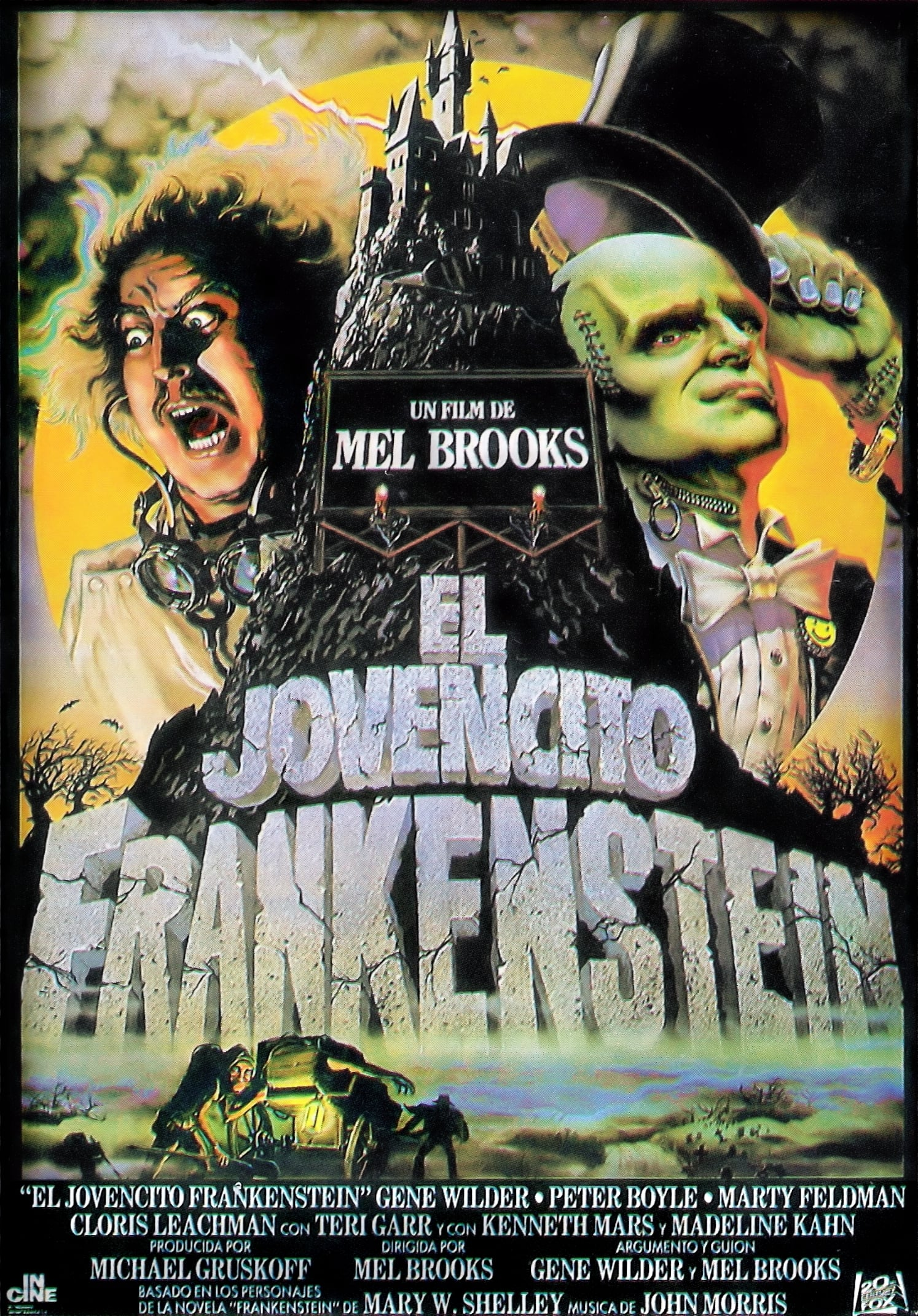 Póster El Jovencito Frankenstein