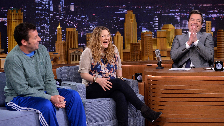 The Tonight Show Starring Jimmy Fallon Season 1 :Episode 8  Drew Barrymore, Adam Sandler, Dierks Bentley