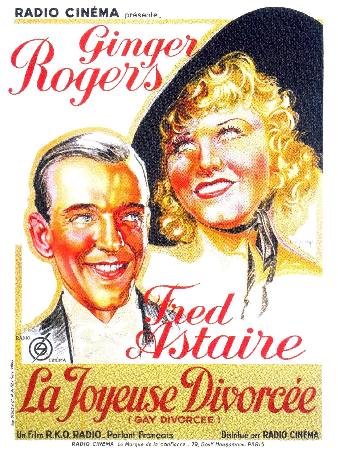 voir film La Joyeuse Divorcée streaming