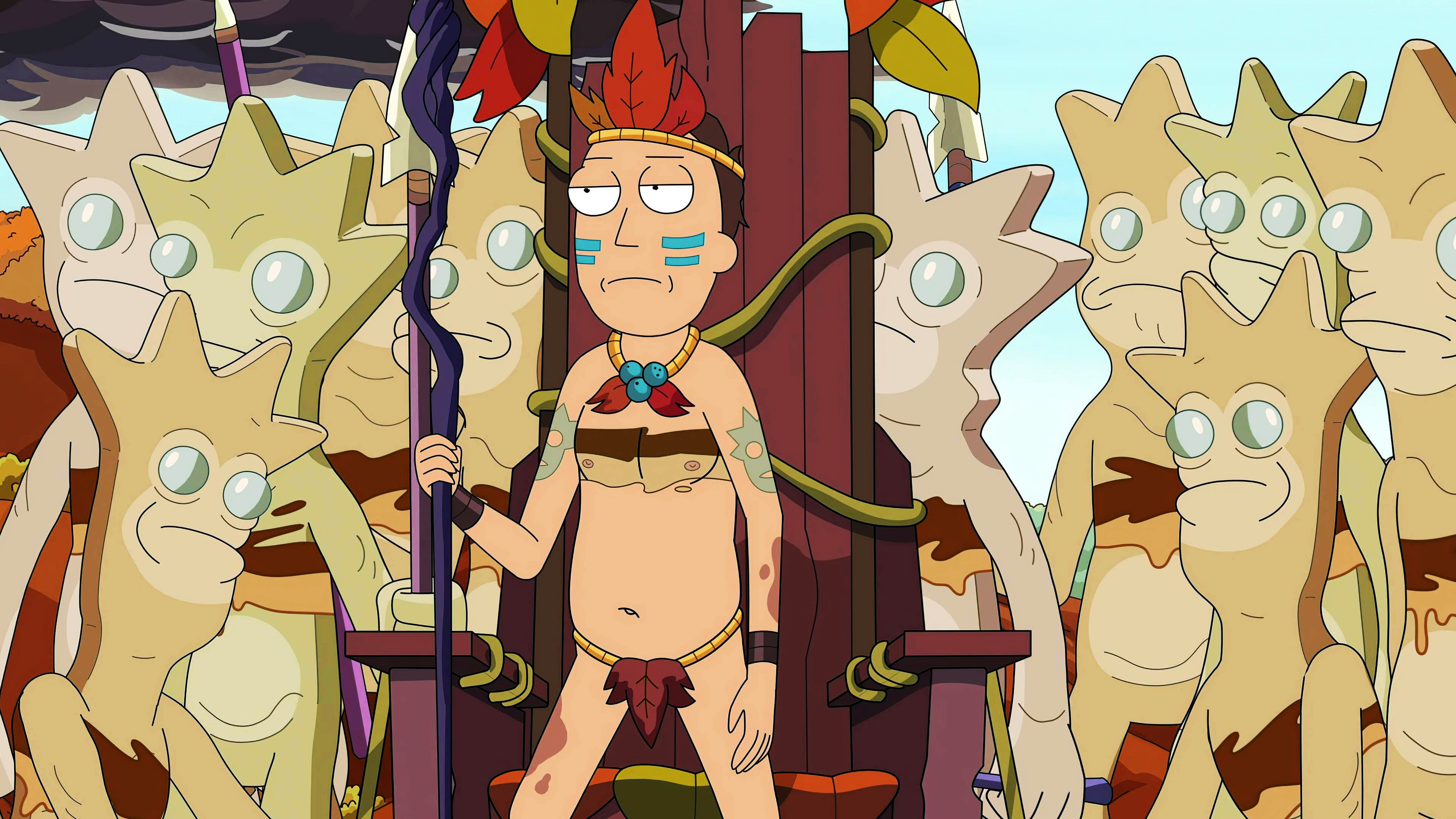Rick and Morty Season 4 :Episode 9  Urgeknallt