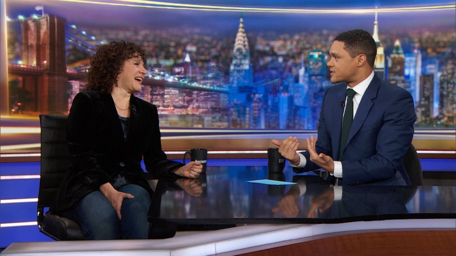 The Daily Show with Trevor Noah Season 25 :Episode 48  Susie Essman