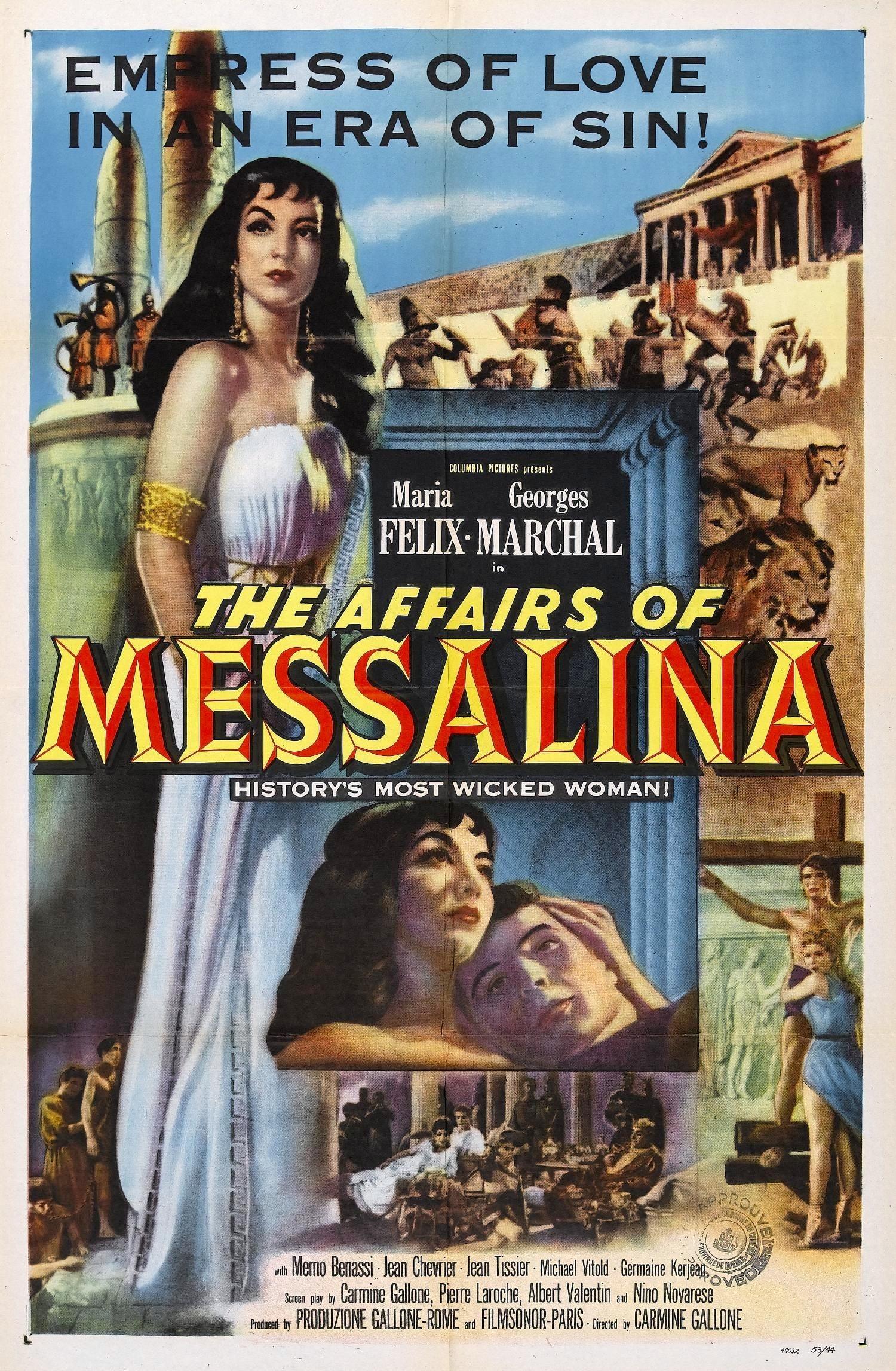 Ver Messalina Online HD Español (1952)