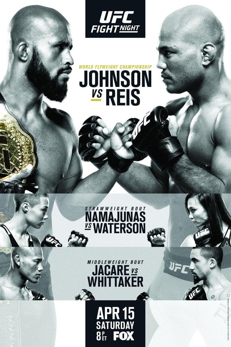 Ver UFC on Fox 24: Johnson vs. Reis Online HD Español (2017)