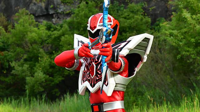 Super Sentai Season 44 :Episode 26  I Give You An Arrow Weapon