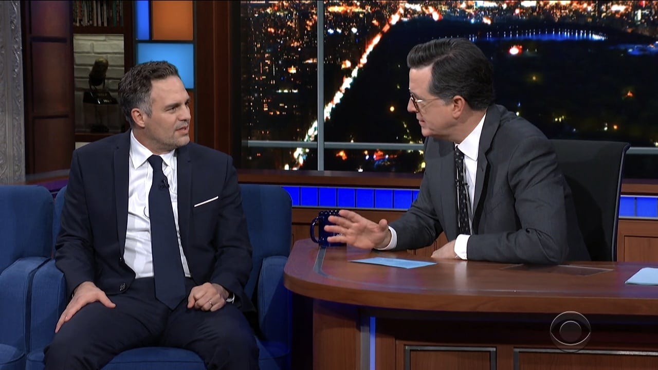 The Late Show with Stephen Colbert Season 5 :Episode 43  Mark Ruffalo, Andy Cohen, Thom Yorke