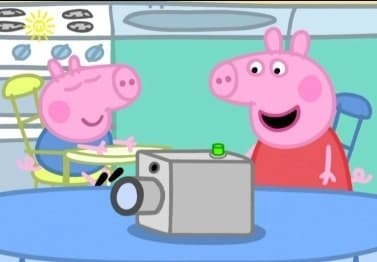 Peppa Pig Season 1 :Episode 51  Daddy's Movie Camera