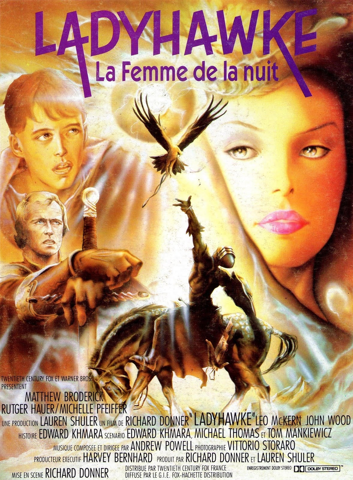 Ladyhawke (1985) - Posters — The Movie Database (TMDb)