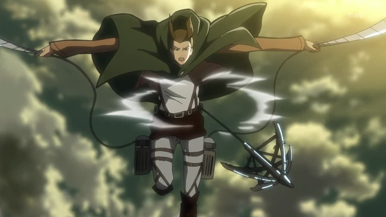 Attack on Titan Season 1 :Episode 17  Female Titan: The 57th Exterior Scouting Mission, Part 1