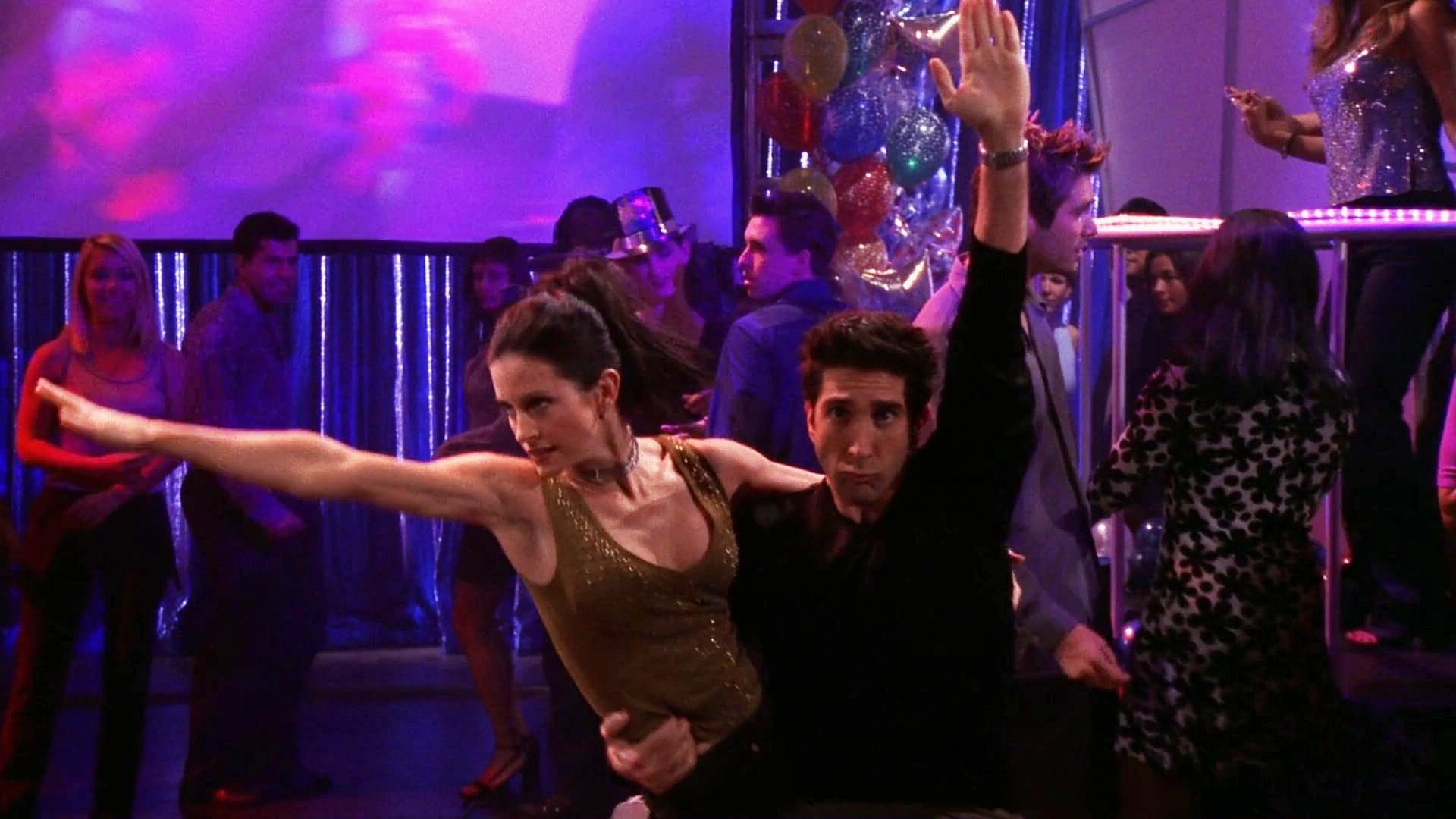 The One With The Routine (a.k.a. The One With The Rockin' New Year)