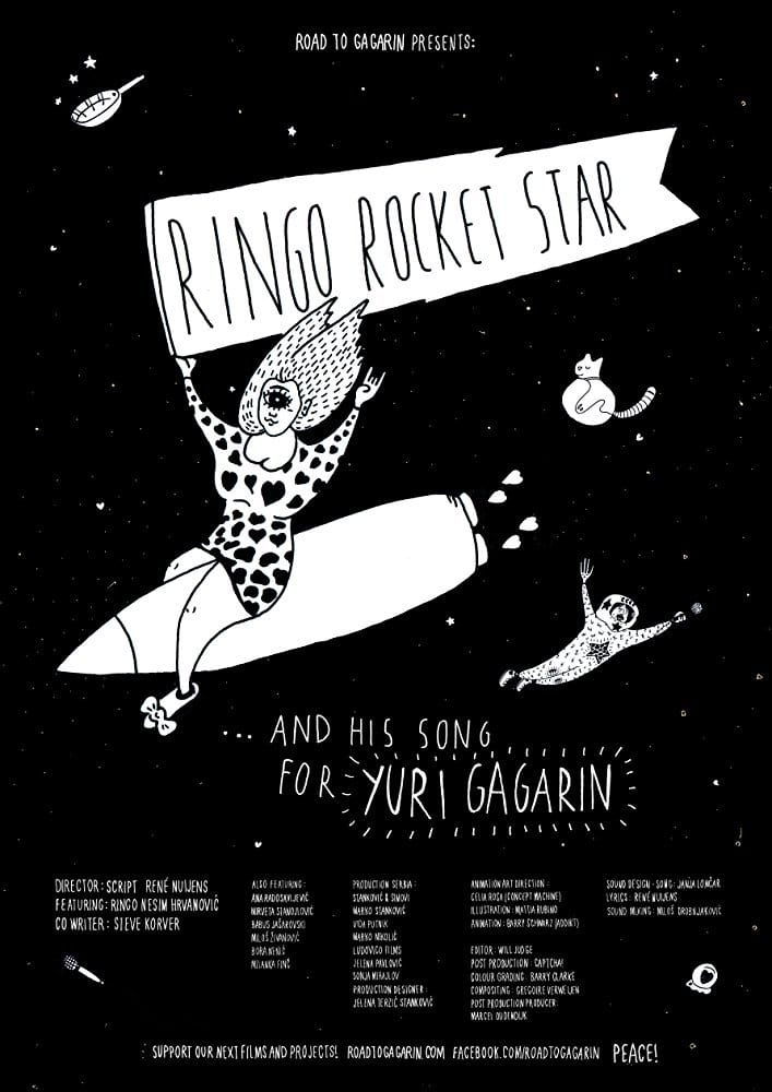 Ver Ringo Rocket Star and His Song for Yuri Gagarin Online HD Español ()