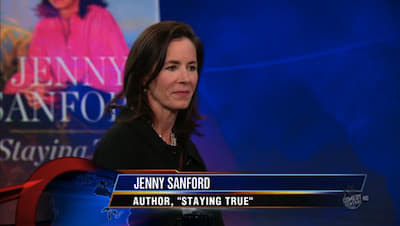 The Daily Show with Trevor Noah Season 15 :Episode 21 Jenny Sanford