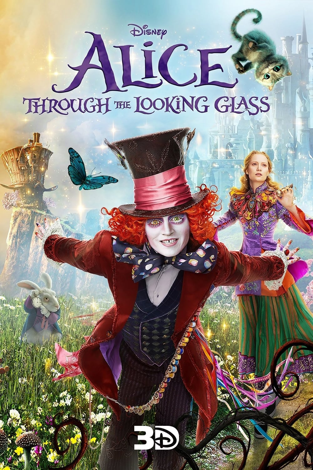 Alice Through The Looking Glass 2016 - Posters  The Movie Database Tmdb