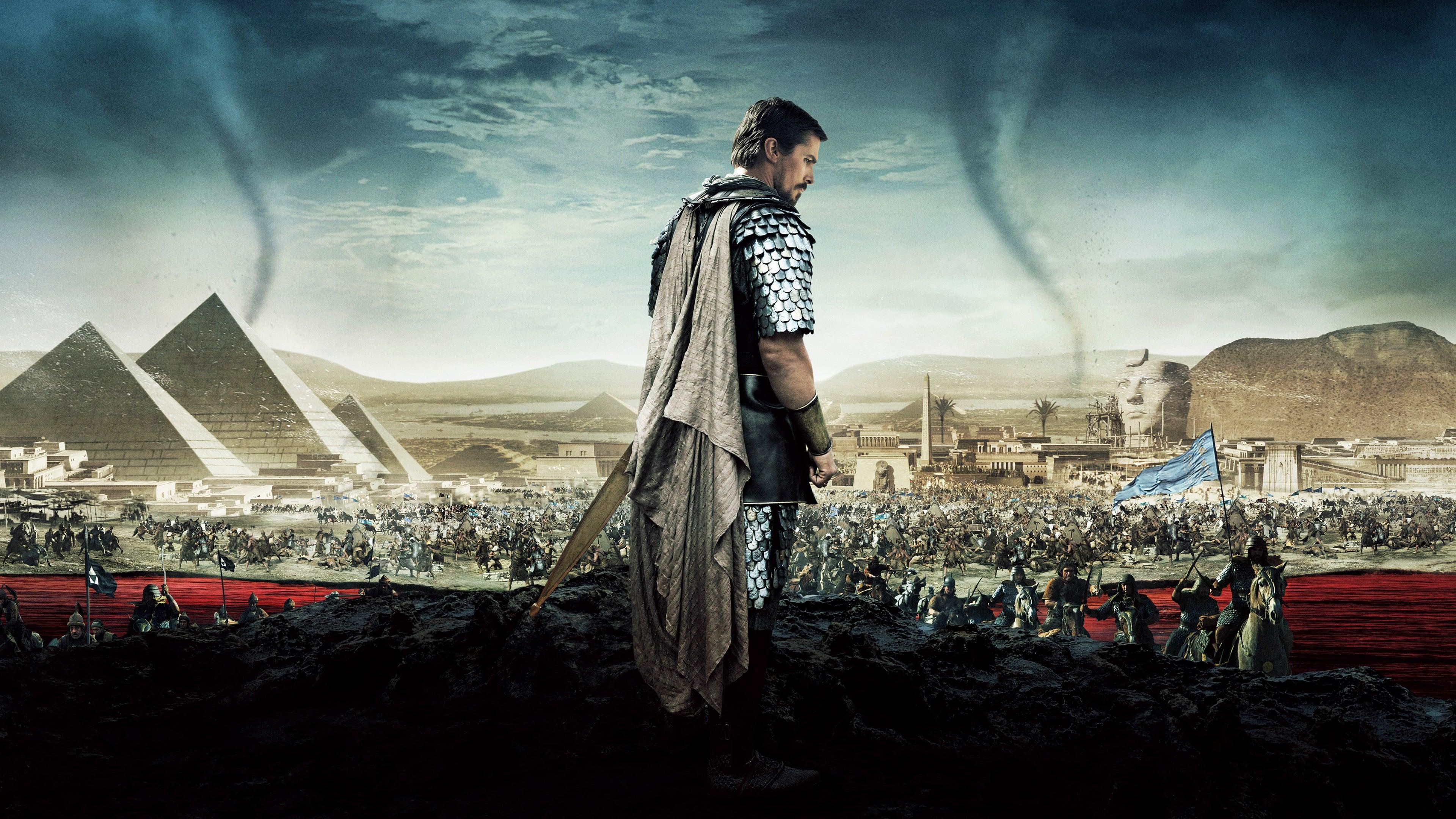 Filmszene aus Exodus - Götter und Könige