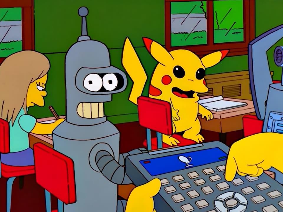The Simpsons Season 14 :Episode 3  Bart vs. Lisa vs. the Third Grade
