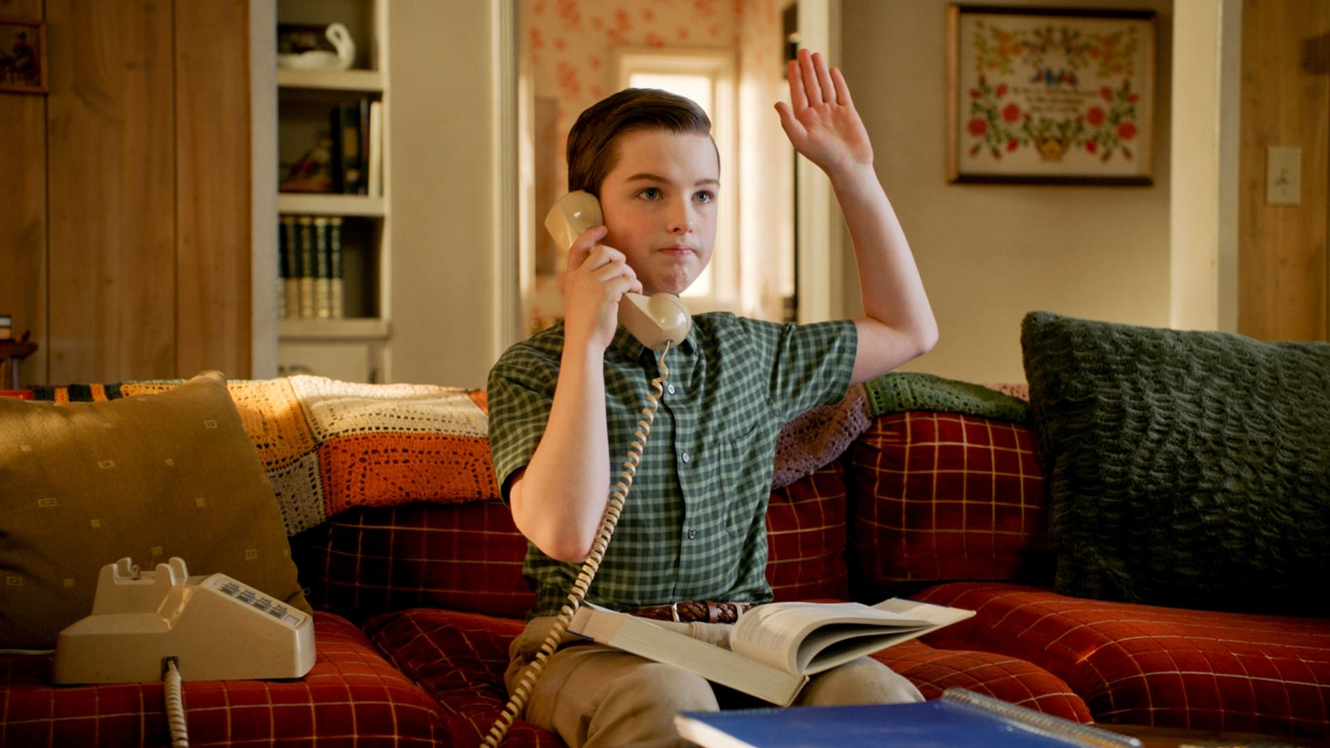 Young Sheldon Season 4 :Episode 13  The Geezer Bus and a New Model for Education