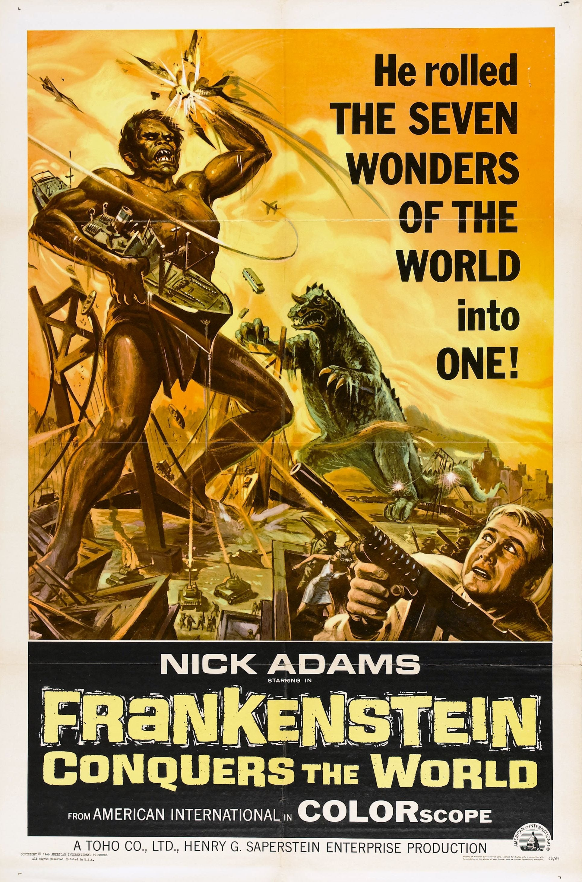 Frankenstein vs. Baragon