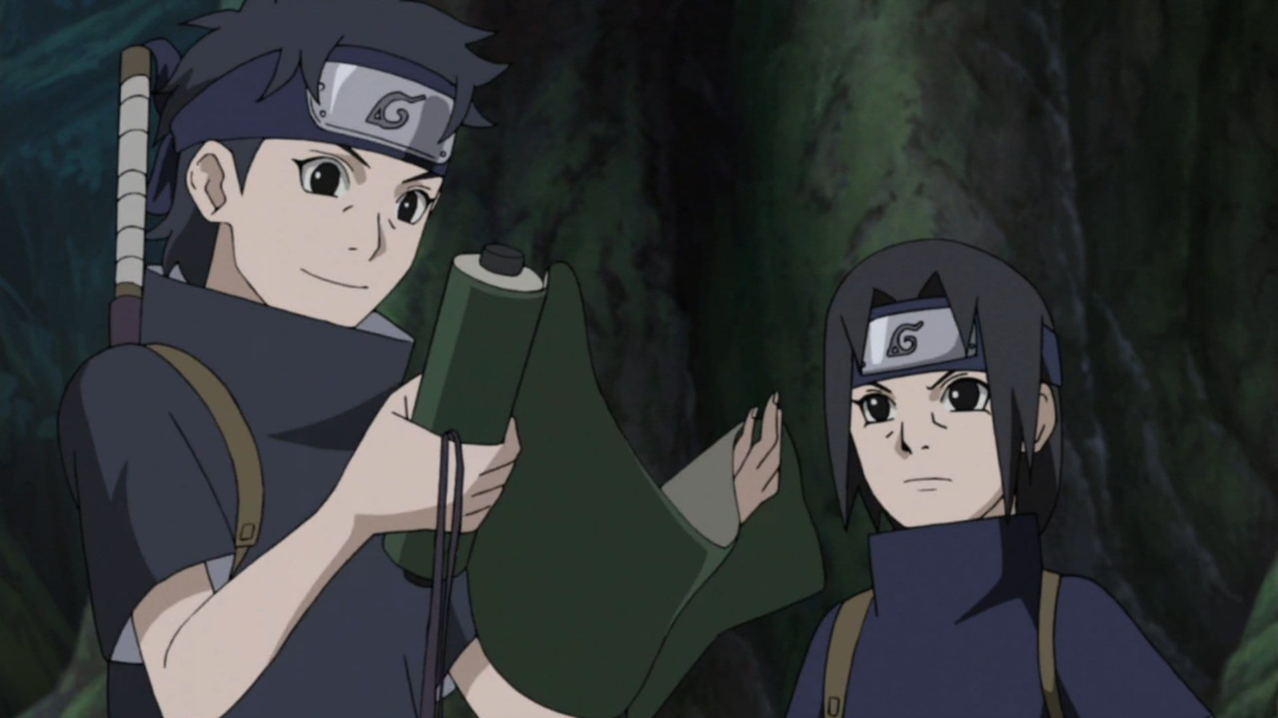 Naruto Shippūden Season 20 :Episode 454  Itachi's Story - Light and Darkness: Shisui's Request
