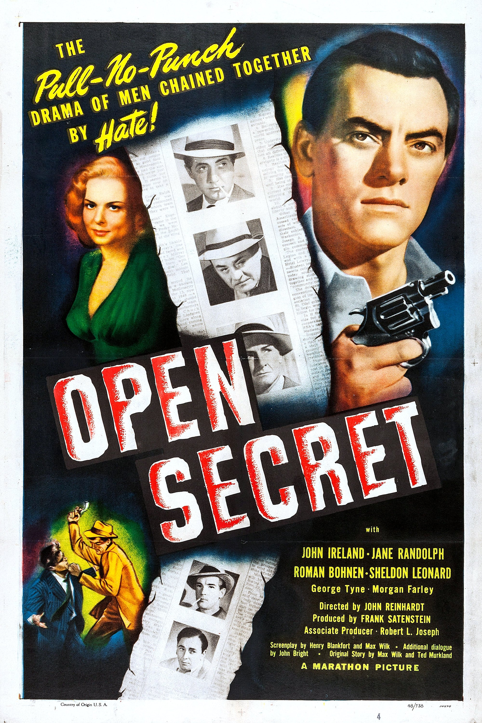 Image result for open secret 1948