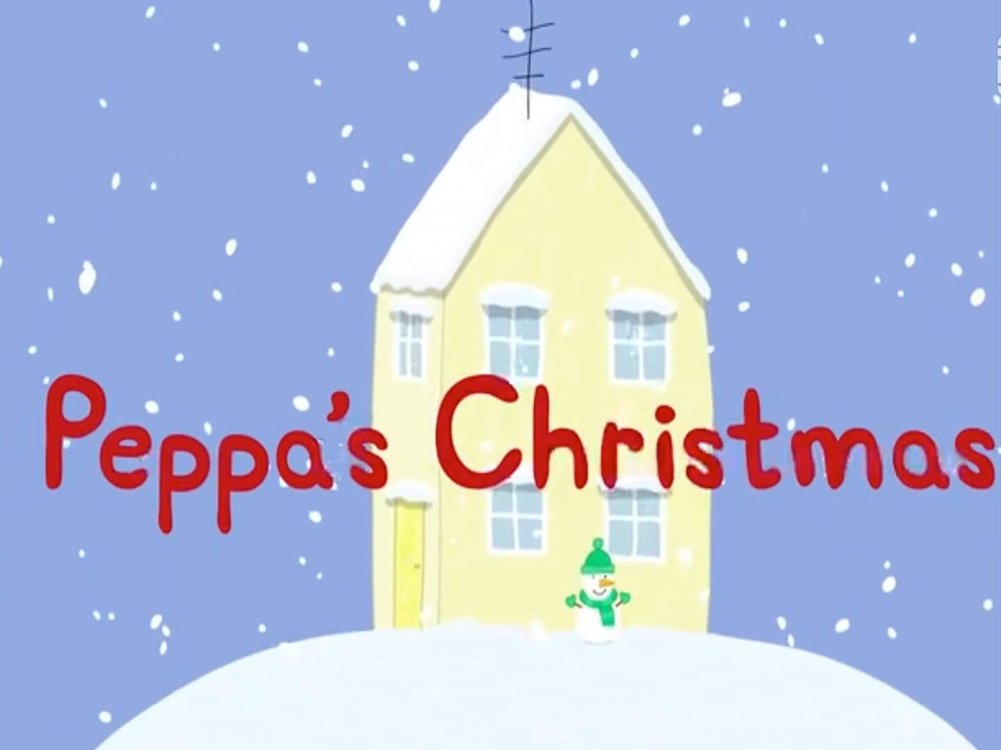 Peppa Pig Season 2 :Episode 13  Peppa's Christmas