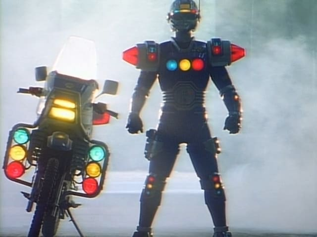 Super Sentai Season 20 :Episode 12  The Signal Jerk from Outer Space