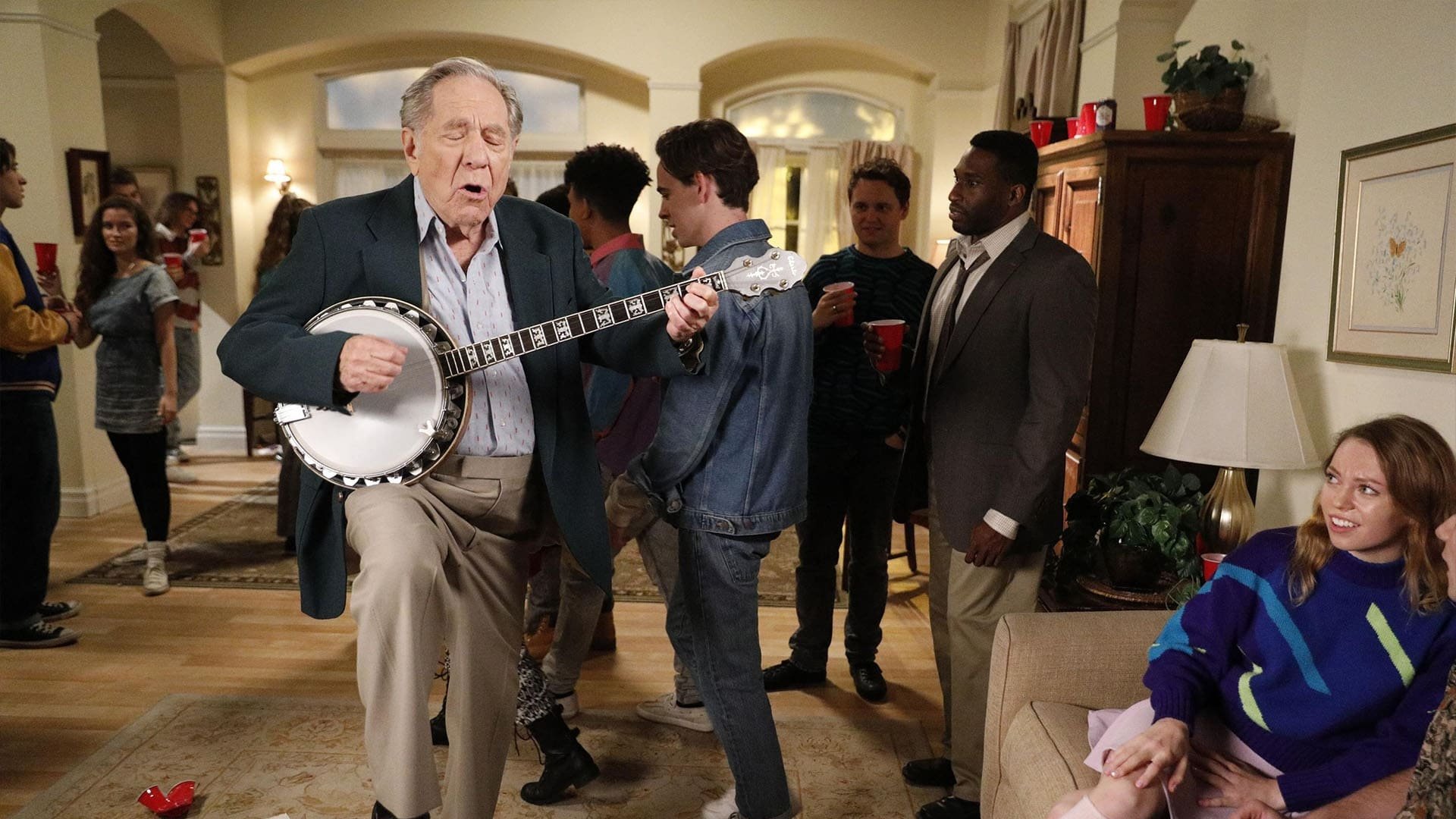 The Goldbergs Season 7 :Episode 15  Dave Kim's Party