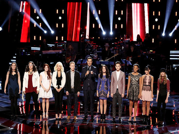 The Voice Season 8 :Episode 14  The Live Playoffs, Night 1