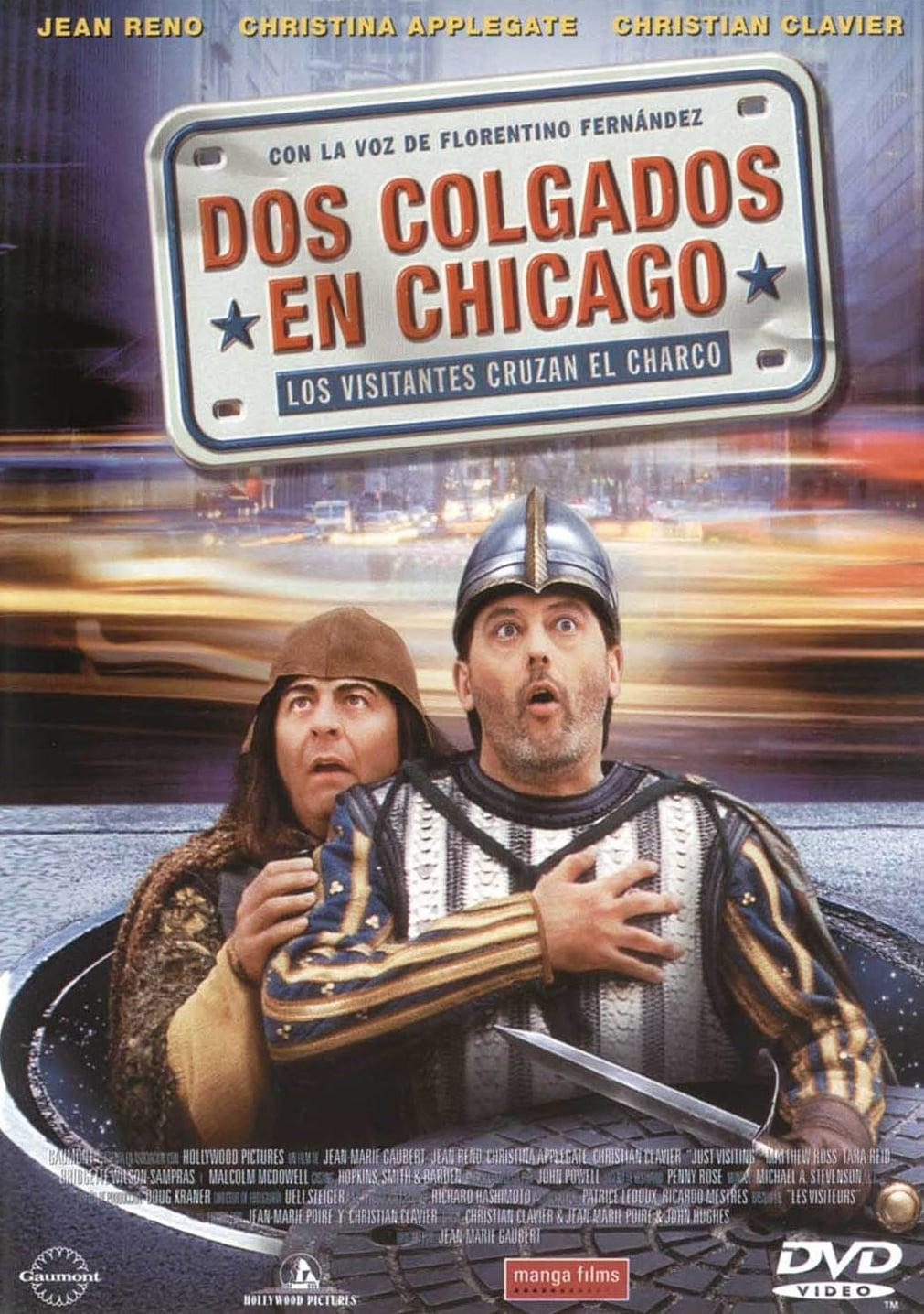 Dos colgados en Chicago (Los Visitantes cruzan el charco) en Megadede