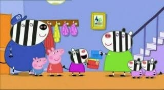 Peppa Pig Season 2 :Episode 19  Zoe Zebra The Postman's Daughter