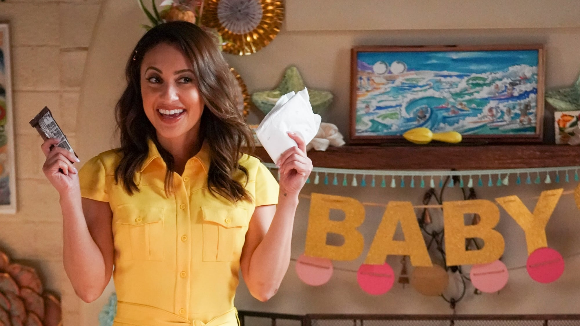 Grown Ish Season 3 Episode 5 Ana baby shower