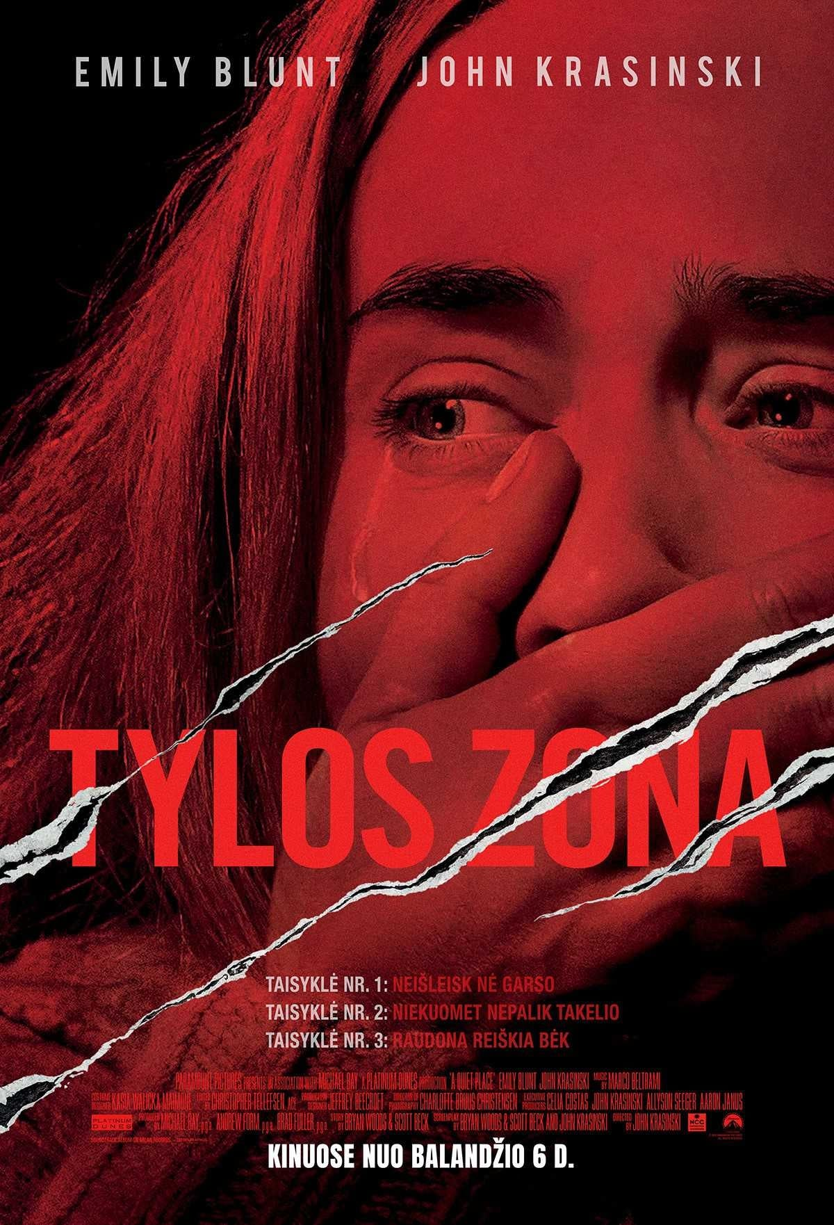 Tylos zona / A Quiet Place (2018) žiūrėti online