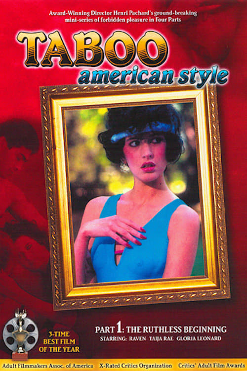 TABOO AMERICAN STYLE 1985 Original Movie Poster 1sh Raven