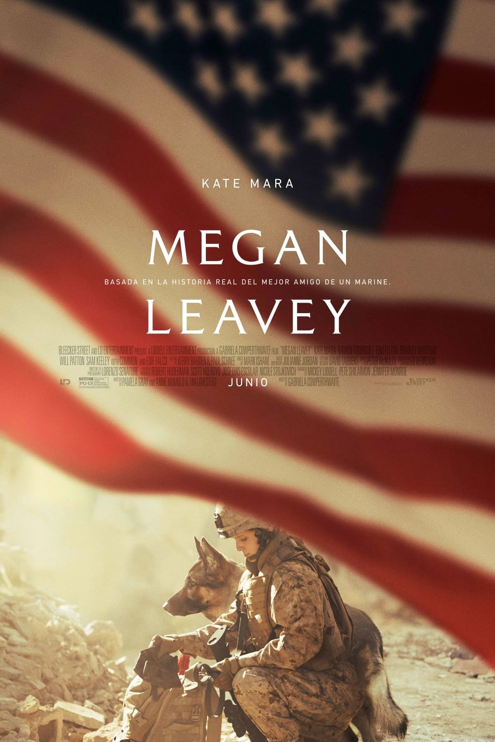 Póster Megan Leavey