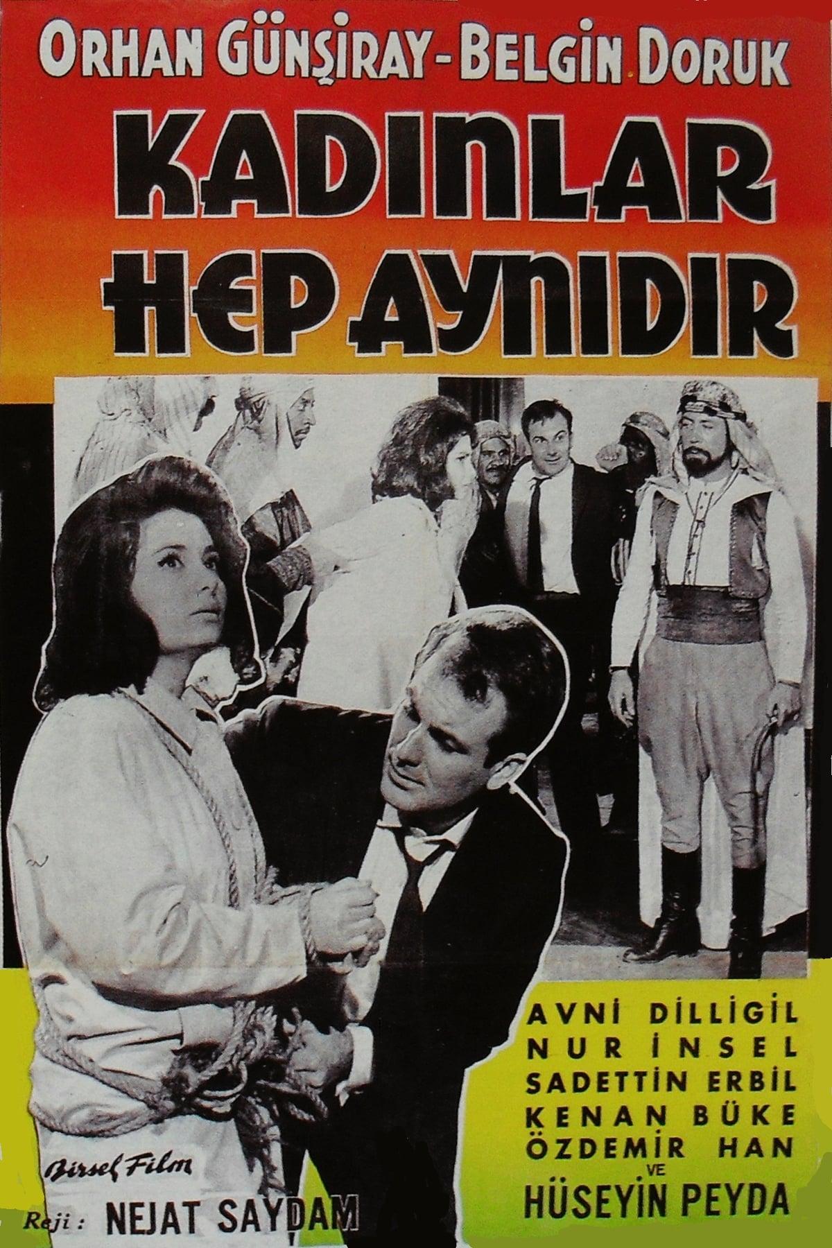 Ver Kad?nlar Hep Ayn?d?r Online HD Español (1963)