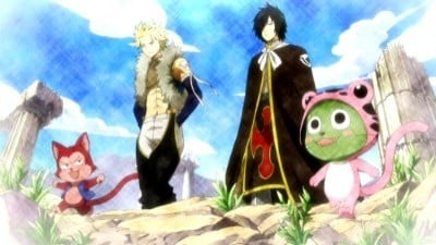 Fairy Tail - Season 4 Episode 1 : Sabertooth