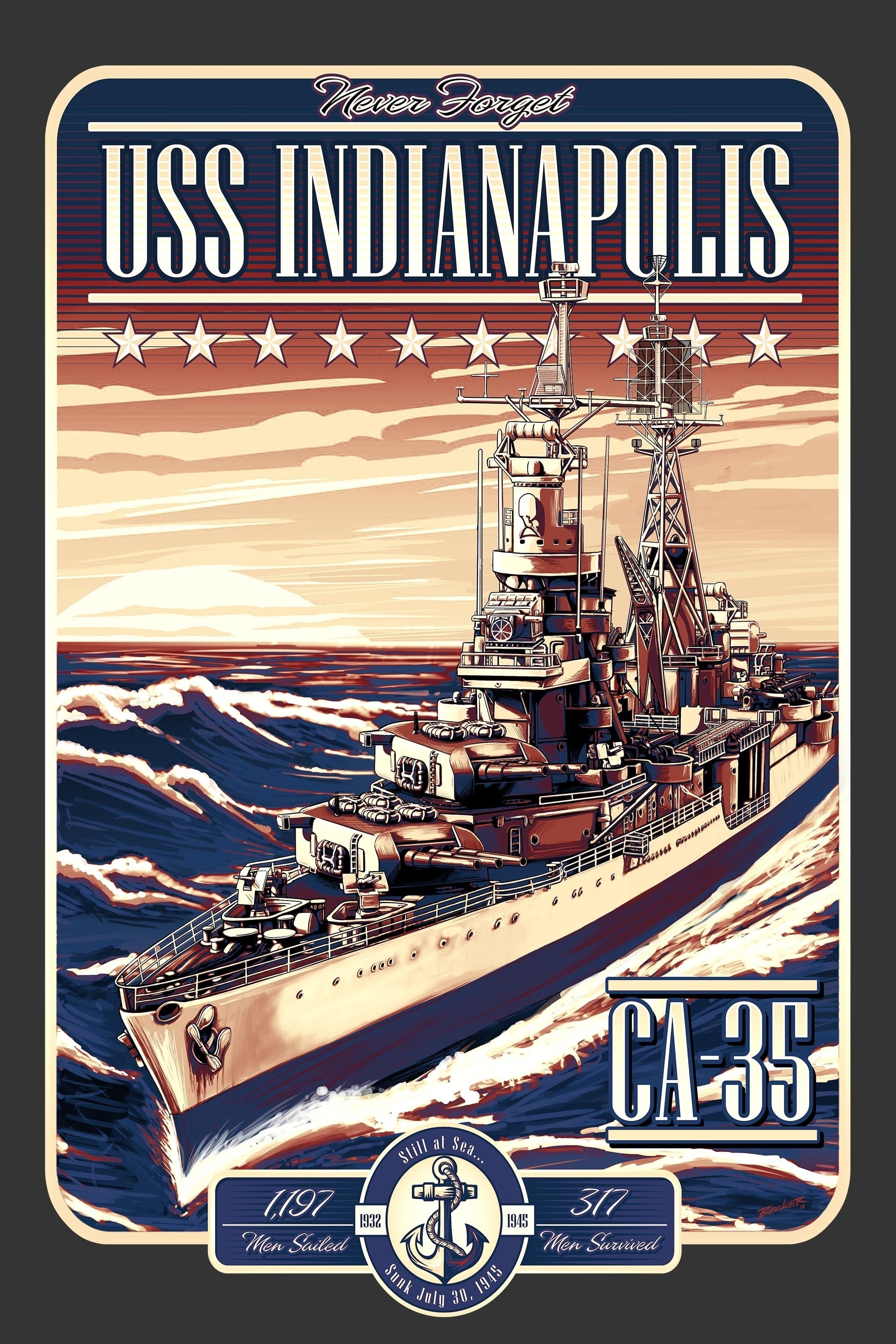 USS Indianapolis: The Legacy on FREECABLE TV