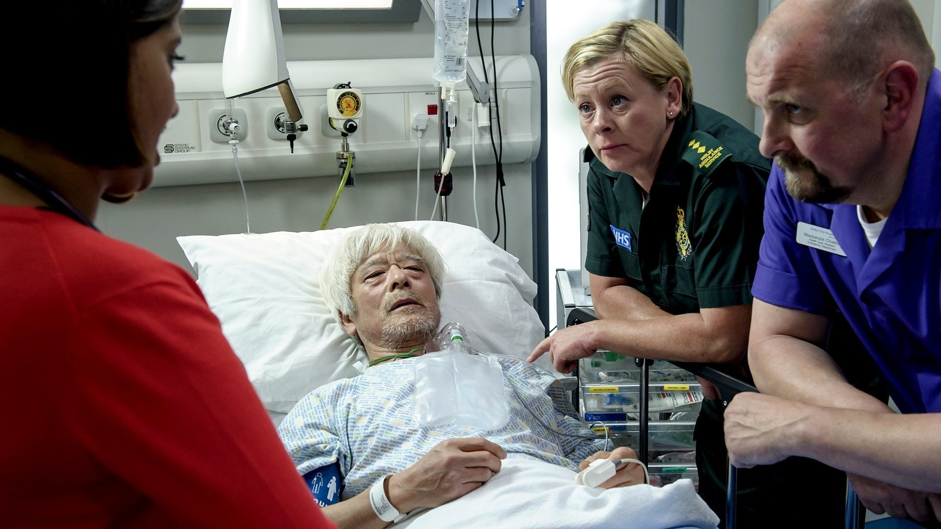 Casualty Season 29 :Episode 11  Asylum
