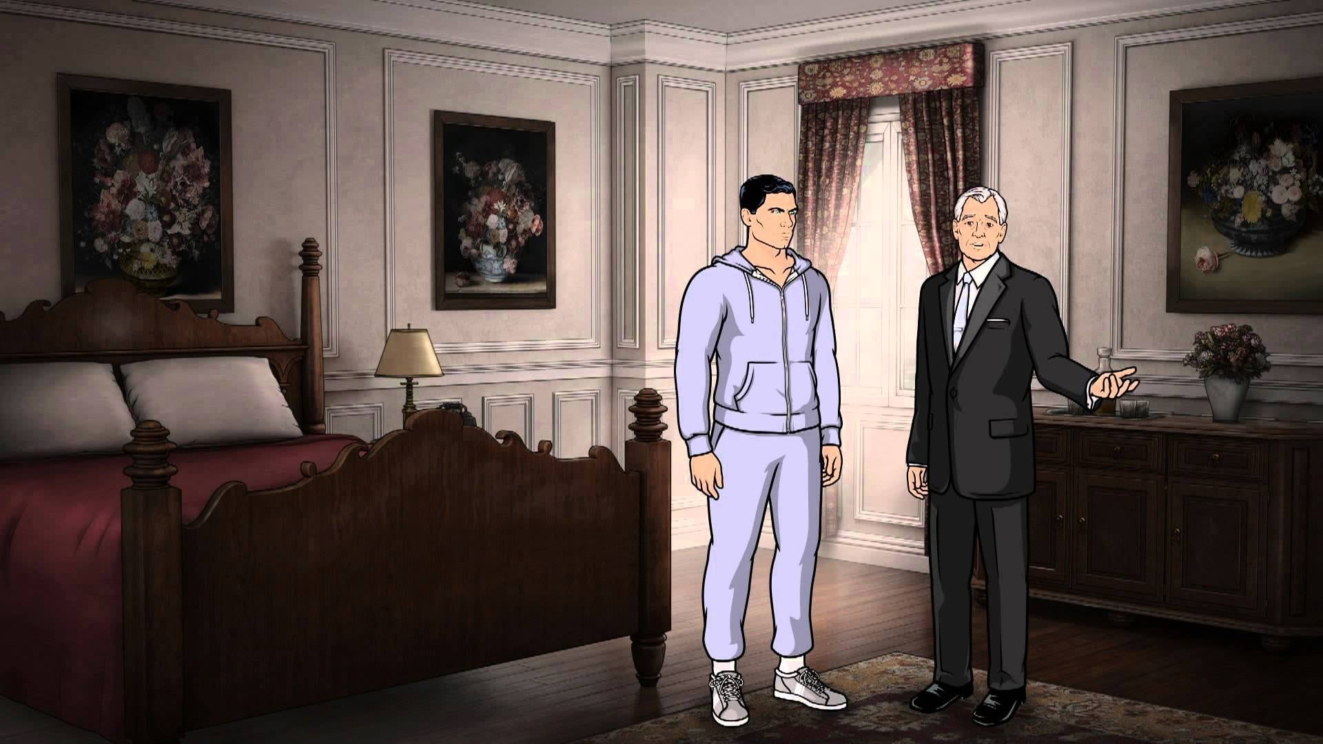 Archer Season 4 :Episode 6  Once Bitten