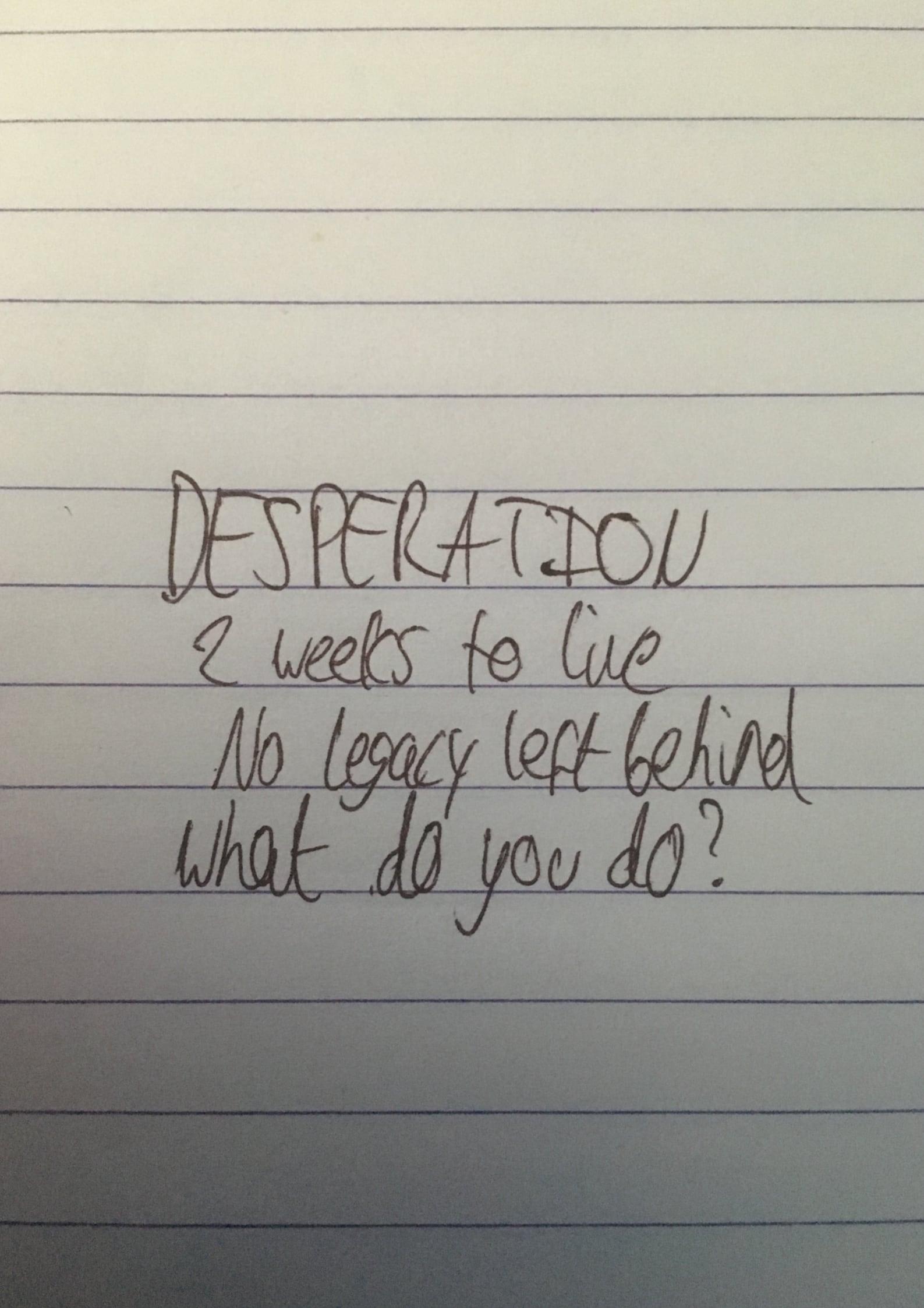 Ver Desperation Online HD Español ()