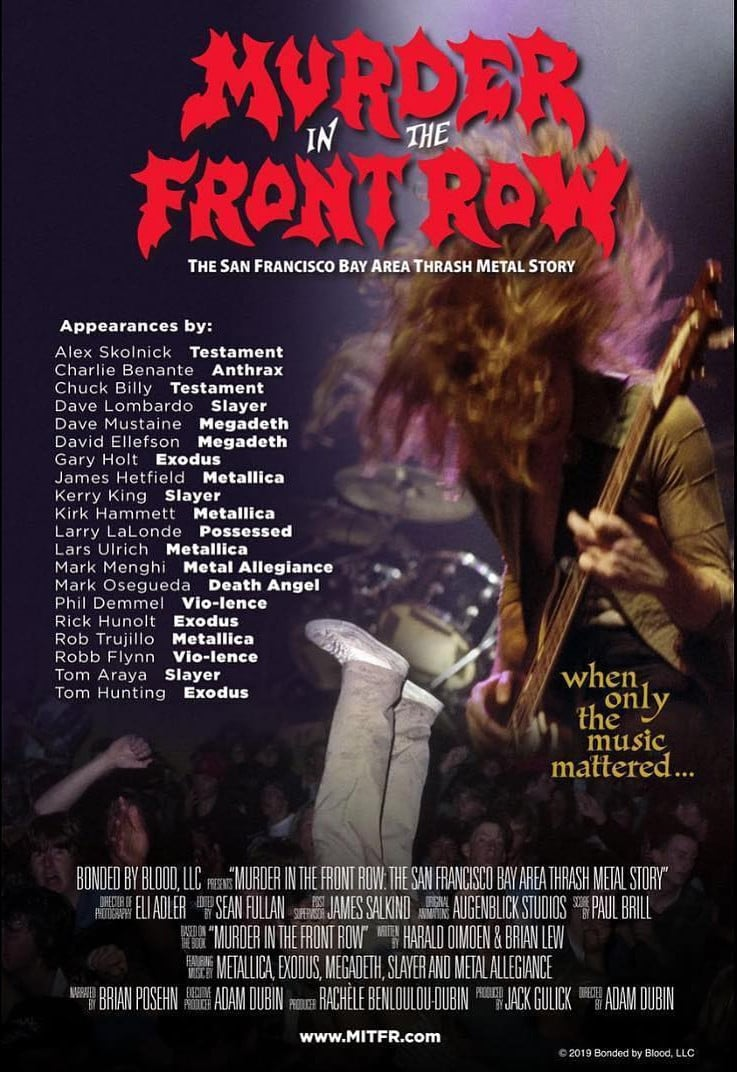 Murder In The Front Row: The San Francisco Bay Area Thrash Metal Story (2019)