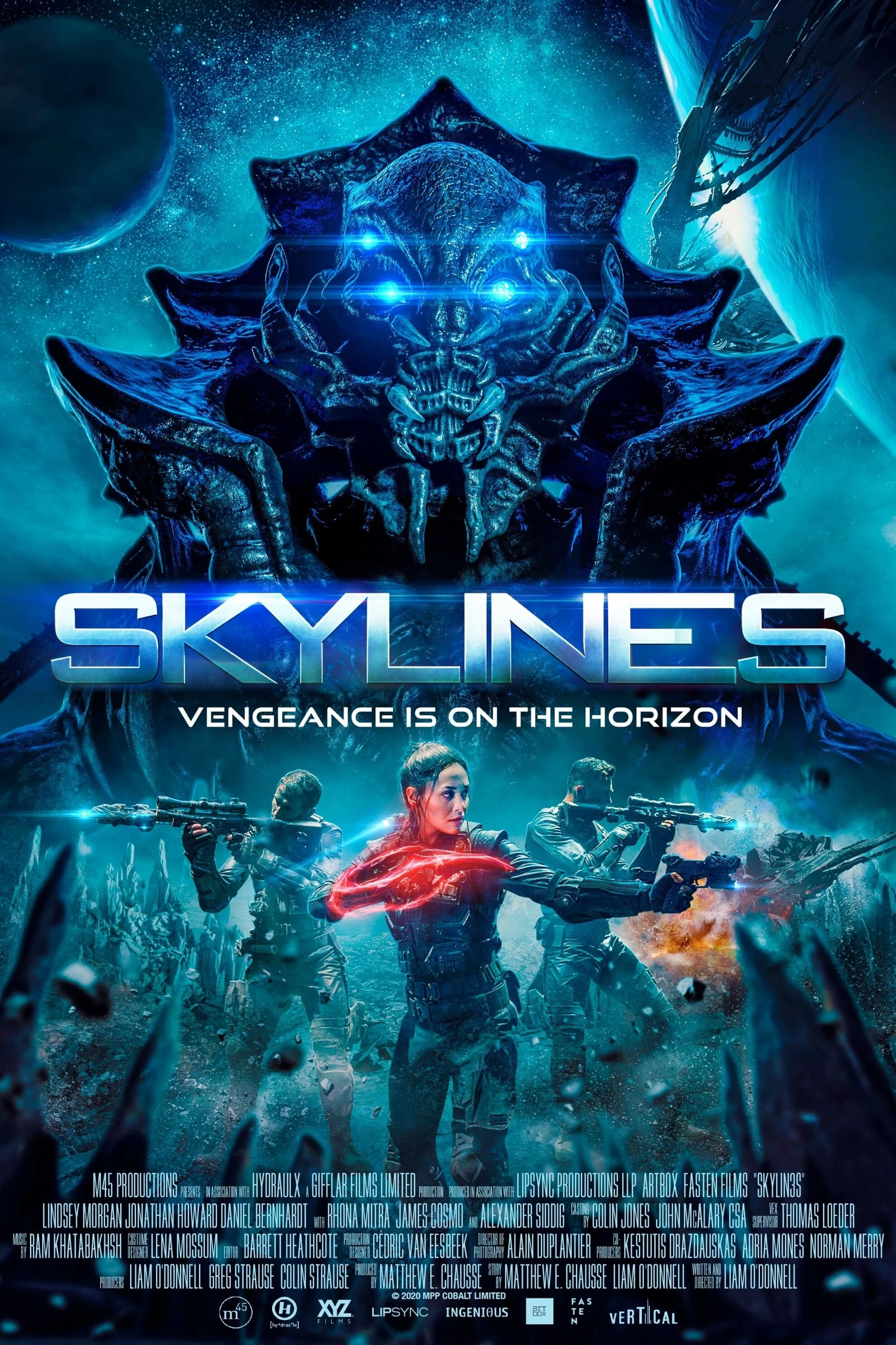 Poster and image movie Skylines